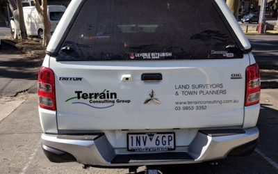 Terrain Consulting Group's rebranded vehicles