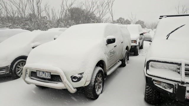 Terrain Snowed in!